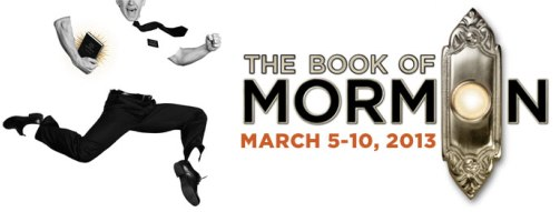 Book Of Mormon Rochester schedule