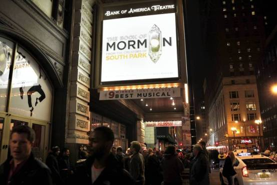 Book of Mormon at Bank of America Theatre