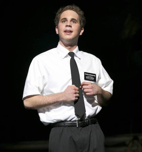 Ben Platt in The Book of Mormon Chicago