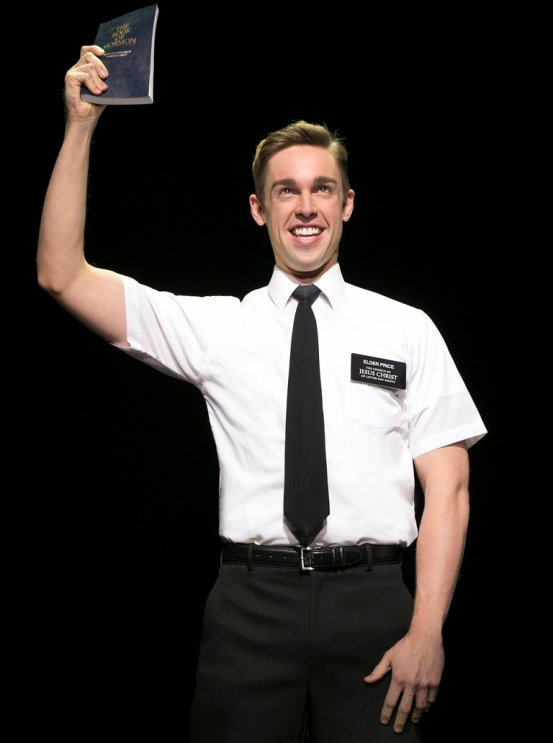 Nic Rouleau in The Book of Mormon at Bank of America Theatre