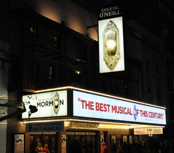 Book Of Mormon Eugene ONeill Theatre