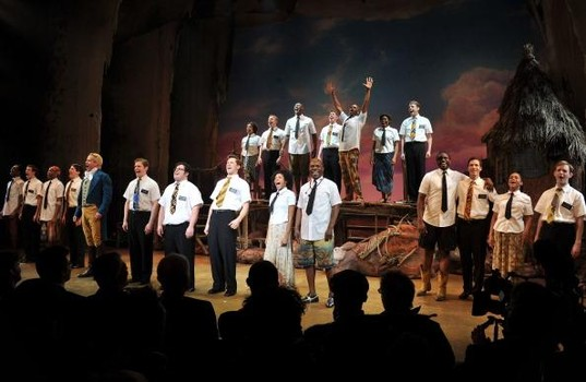 Book of Mormon in Bass Concert Hall
